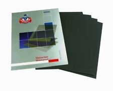 Wet And Dry Sandpaper Mixed Grits - 3000 / 5000 / 7000 - 6 Sheets 2 Per Grit X