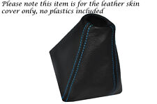BLUE STTICHING FITS CHRYSLER CROSSFIRE 03-07 LEATHER MANUAL GEAR GAITER ONLY