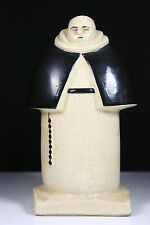 VINTAGE ART DECO FRENCH ART POTTERY ROBJ PARIS MONK C.H FRANCE CHARLES HARVA