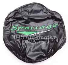 New Old Stock 1999-01 Kia Sportage Spare Tire Cover Lime Letters UP992-AY009-80