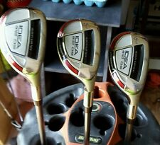 Adams Golf Idea a12OS Hybrid SET (4-6), Utility Club Golf Clubs