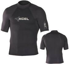 XCEL SLX NEO SHORT SLEEVE MEN'S WETSUIT TOP – COLOR: BLACK – SIZE: SMALL – NEW!!