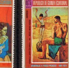 Pablo Picasso Peinture Guinea Equatorial Guinée Equatoriale Timbre Stamp