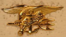 USN Navy Naval SEAL Trident Special Warfare Badge Military Insignia Full Sized