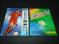 MARK VAN BOMMEL NEDERLAND PANINI CARD FOOTBALL GERMANY 2006 WM FIFA WORLD CUP