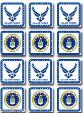 AIR FORCE DRINK COASTERS DECORATIONS Party Supplies FREE SHIPPING NEW