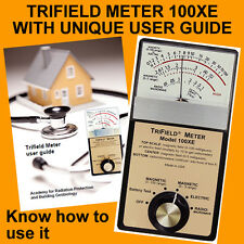 Oz Seller Trifield EMF Gauss Meter 100XE + Free HowtoUse Guide