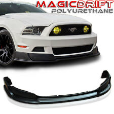 2013-2014 Ford Mustang RTR Style Urethane Front Bumper Chin Lip Spoiler GT V6 V8