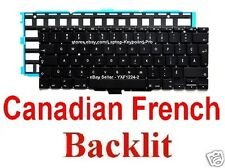 Apple MacBook Air A1370 A1465 Keyboard - CF - Canadian French - Backlit