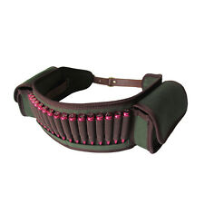Tourbon Rifle Cartridge Belt Ammo Sling Bandolier Shell Pockets Hunting Shooting