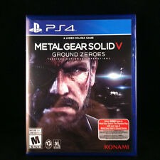 Metal Gear Solid V: Ground Zeroes  (Sony PlayStation 4, 2014) BRAND NEW