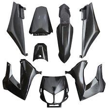 Kit CARENAGE carrosserie  DERBI Noir 8 coques Senda XRace Xtrem DRD noir