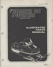 1979 ARCTIC CAT SNOWMOBILE PANTHER 5000 P/N 0185-125 PARTS MANUAL (034)
