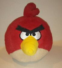 """Angry Birds Red Plush 7x7"""" Stuffed Animal Commonwealth Toy Co.2010"""