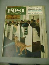 SATURDAY EVENING POST MARCH 24 1956 JOBS FOR OLDER WOMEN