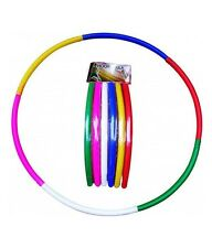 New Adjustable Colourful Folding Hula Hoop Round Circle Exercise Dancing Ring