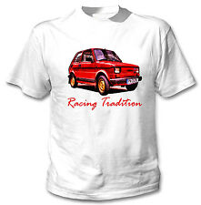 POLISH MALUCH RED INSPIRED TRADITION - WHITE COTTON TSHIRT