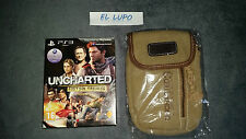 UNCHARTED EDITION TRILOGIE NEUF VF PS3 + SACOCHE UNCHARTED NEUF COLLECTOR