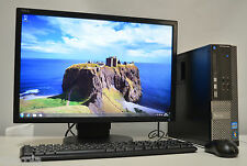 "Dell OptiPlex 390 SFF + MONITOR 22"" Intel i5 8GB DDR3 1TB Win 7 Listo Para Usar"