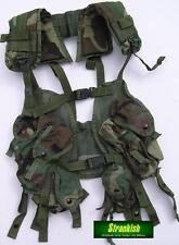 GENUINE US ARMY LOAD BEARING TACTICAL ASSAULT VEST WOODLAND CAMO