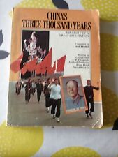 CHINA'S THREE THOUSAND YEARS BY THE TIMES NEWSPAPER 1ST EDITION