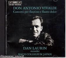 Vivaldi: Concerti Per Flautino E Flauto Dolce / Dan Laurin - CD
