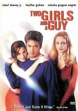 Two Girls And A Guy ~ Robert Downey Jr. Heather Graham ~ DVD WS ~ FREE Shipping