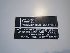 1941 1942 1943 1944 1945 1946 1947 CADILLAC WINDSHIELD WASHER BRACKET DECAL