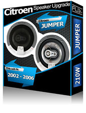 Citroen Jumper Front Door Speakers Fli Audio car speaker kit 210W