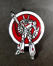 VALKYRIE ROBOTECH MACROSS  ENAMEL PIN   FROM JAPAN VINTAGE MINT