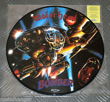 Motorhead 'Bomber' LTD Edn. Italian Re-Issue Pic LP Picture Disc Rare OOP Lemmy
