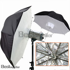 "2x 40"" Video Studio Reflective Umbrella Brolly Box Softbox Flash Photography New"