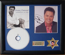 Donny Osmond Love Songs Genuine CD, Autograph & Plectrum Presentation