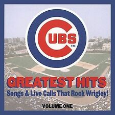 Chicago Cubs: Greatest Hits by Various Artists VOL 1 (CD, June 2000)