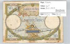 BILLET FRANCE - 50 FRANCS MERSON - 24-2-1928