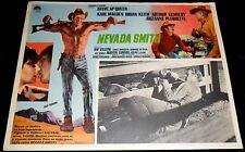 1966 Nevada Smith ORIGINAL MEXICAN LOBBY CARD Steve McQueen Harold Robbins