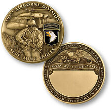 NEW 101st Airborne Division - Screaming Eagles Challenge Coin. 60720.