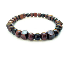 men's beaded bracelet handmade shamballa cuff accessories designed gift for him