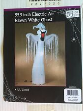 "Halloween White Ghost 95.3"" Electric Blown Inflatable Yard Decor Prop NIB"