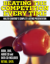 Walter Sanford Real Estate Books CDs DVDs Beating the Competition Every Time