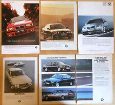 BMW 5x 1970s/00s Original ADS Car ad automovile publicidad coche