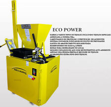 Hydraulic eco brick press paver machine earth brick concrete lego