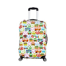 """18""""~22"""" Paris Travel Luggage Trolley Suitcase Protective Cover Anti Dust Case  -"""