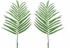 Set of 2 Artificial Parlour Palm Leaves -  70cm - Exotic Fake Foliage Leaf