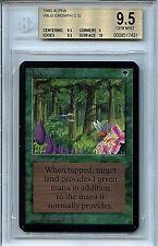 MTG Alpha Wild Growth BGS 9.5 Gem Mint Magic WOTC Card 7431