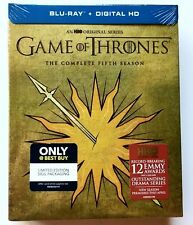 NEW GAME OF THRONES SEASON 5 BLU RAY BEST BUY EXCLUSIVE HOUSE MARTELL SIGIL