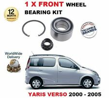 FOR TOYOTA YARIS VERSO 1.3 1.4 D4D 2000-2005 FRONT WHEEL BEARING KIT COMPLETE
