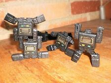 Lot 4 VINTAGE ROBOT Wrist Watch Pre-Transformers 70s/80'  no BOX  Quartz lot#2