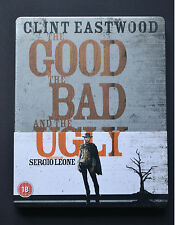 The Good The Bad and The Ugly Steelbook Bluray  UK Edition Region Free New