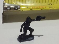 STAR WARS MICRO MACHINES FIGURE - TOY / CAKE TOPPER - TIE FIGHTER PILOT 1